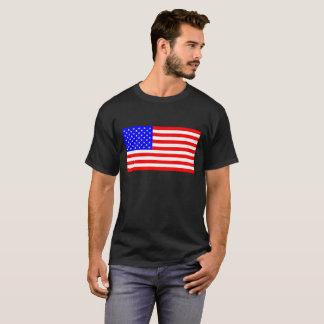 Amerikanska flaggan t shirt