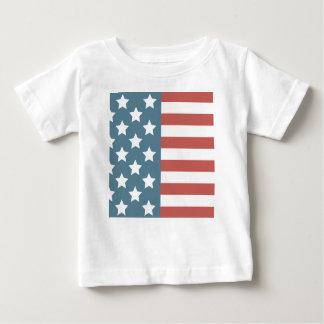 Amerikanska flaggan tee