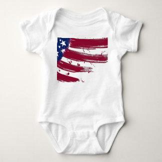 Amerikanska flaggan tee shirt