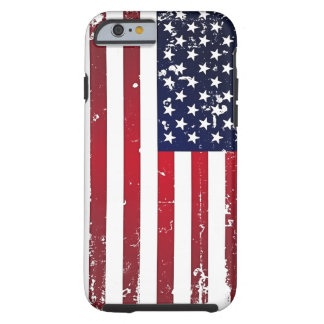 Amerikanska flaggan tough iPhone 6 case