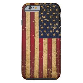 Amerikanska flaggan tough iPhone 6 skal