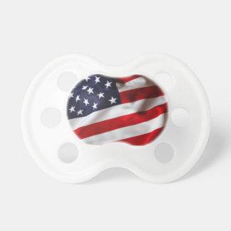 Amerikanska flagganbabynappar napp