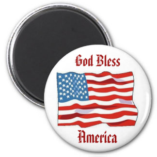 Amerikanska flagganmagnet magnet