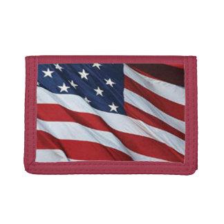 Amerikanska flagganplånbok