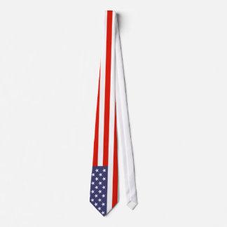 Amerikanska flagganslipsar slips