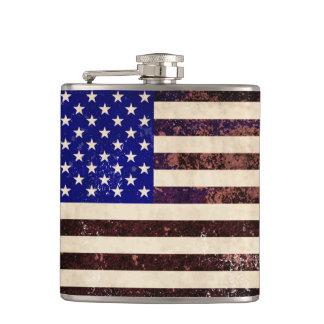 Amerikanska flagganvintageGrunge Fickplunta