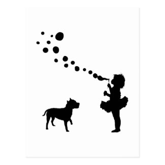 AmerikanStaffordshire Terrier Vykort