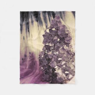 Amethyst Geode Fleecefilt