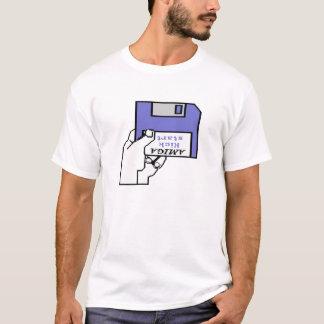 Amiga Kickstart logotypen för 1,0 och 1,1 känga T-shirt