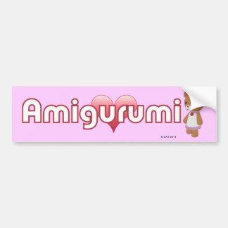 Amigurumi kärlekbildekal bildekal
