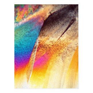 Amino syra för Cystein under mikroskopet Vykort