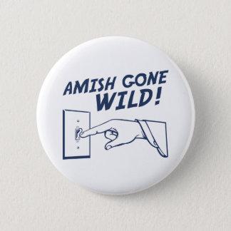 Amish borta vild! standard knapp rund 5.7 cm
