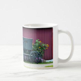 Amish Buggy-Barnyard Kaffemugg