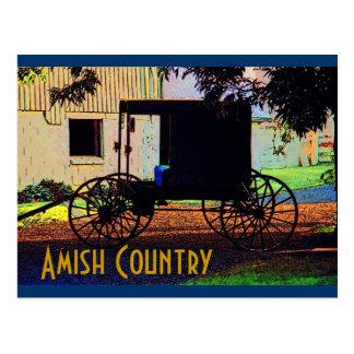 Amish Buggyvykort Vykort
