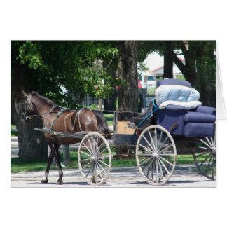 Amish Recliner Hälsningskort