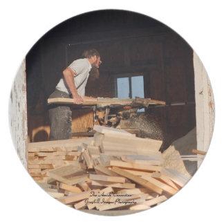 Amish Sawmill Tallrik