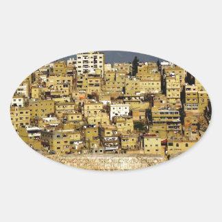 Amman från Citadel Ovalt Klistermärke