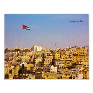 Amman Jordanien Fototryck