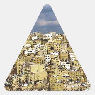 Amman Triangelformat Klistermärke