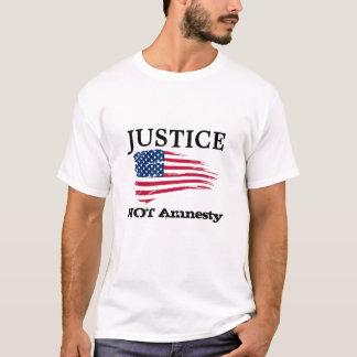 Amnesti för rättvisa inte tee shirt