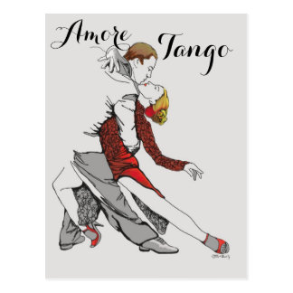 Amore Tango Vykort