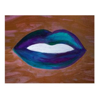 Amorous Glam för läppstift för läpparkyss XOXO Vykort