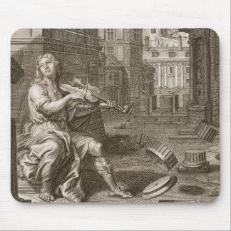Amphion bygger väggarna av Thebes vid musiken av Musmatta