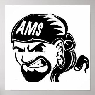Ams-pirat Poster