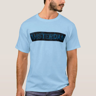 AMSTERDAM blue2 Tee Shirt