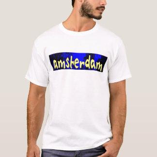 AMSTERDAM gultblått T Shirt