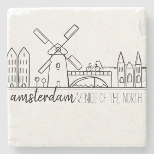 Amsterdam horisont stenunderlägg