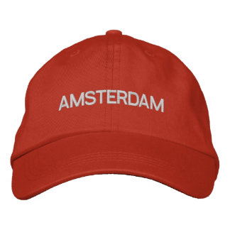 Amsterdam lock broderad keps