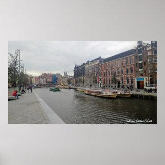 Amsterdam Nederländerna Poster