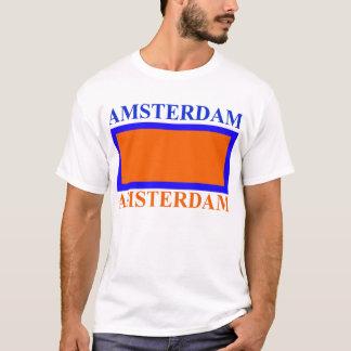 AMSTERDAM orange Tee