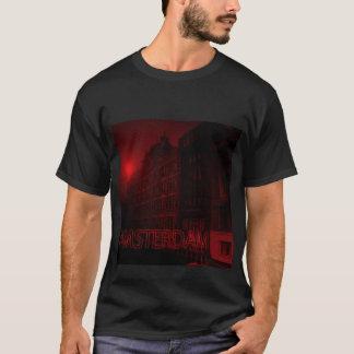 amsterdam rött ljus tee shirt