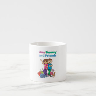Ana-Tommy och vänner - Loveable kaffemugg Espressomugg
