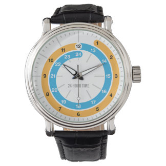 Analog 24 timmeklocka armbandsur