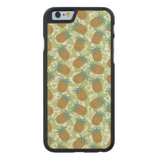 Ananas Carved Lönn iPhone 6 Slim Skal