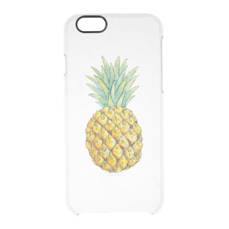 Ananas Clear iPhone 6/6S Skal