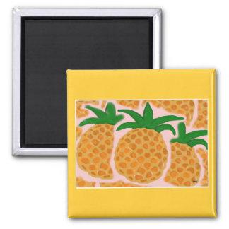 Ananas kvadrerar magneten magnet