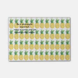Ananas Post-it Lappar