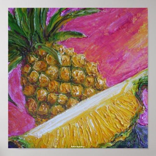 Ananaskonstaffisch Posters
