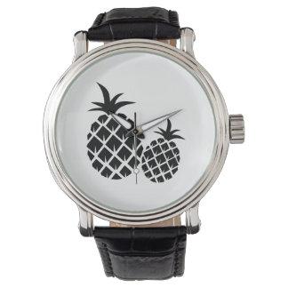 Ananasmönster Armbandsur