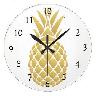 Ananasväggen tar tid på stor klocka