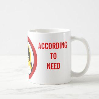 Anarcho-kommunist logotyp kaffemugg