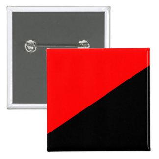 Anarkist Colombia politisk flagga Knappar