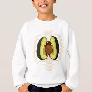 Anatomi av en avokado t-shirt