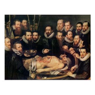 Anatomikursen av skåpbilder för doktor Willem Vykort
