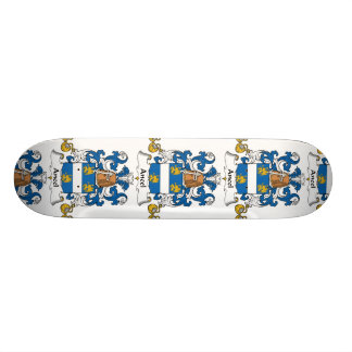 Ancel familjvapensköld skate board deck