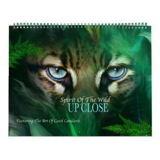 Ande av vilden - upp nära konstkalender kalender